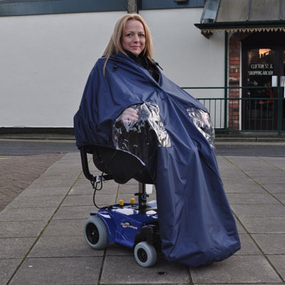 Splash-Powerchair-Cape